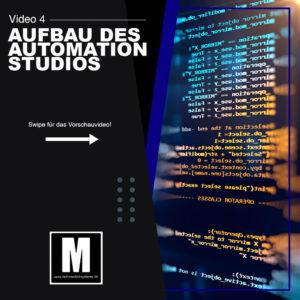 Aufbau des Automation Studios - Sebastian Diers