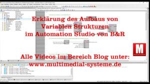 Video 15 Variablen Typen/Strukturen im Automation Studio